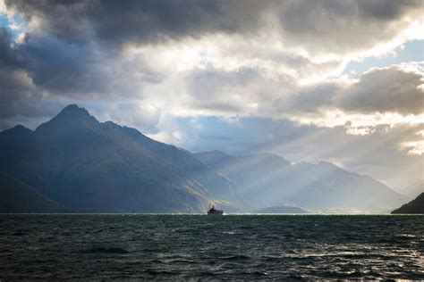 Ferry Boat New Zealand by Ferry Queenstown New Zealand Beautiful Photography