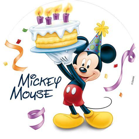 image mickey anniversaire