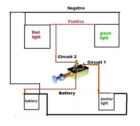 need a simple wiring diagram for navagation lights