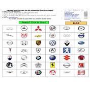 Car Manufacturers Can You Name 42 Auto Manufacturer Logos