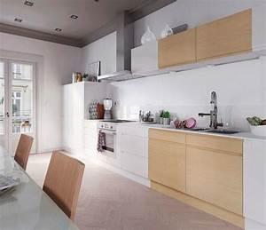 Panneau Laqué Blanc Brillant Sur Mesure : cuisine en bois quel mod le choisir c t maison ~ Melissatoandfro.com Idées de Décoration