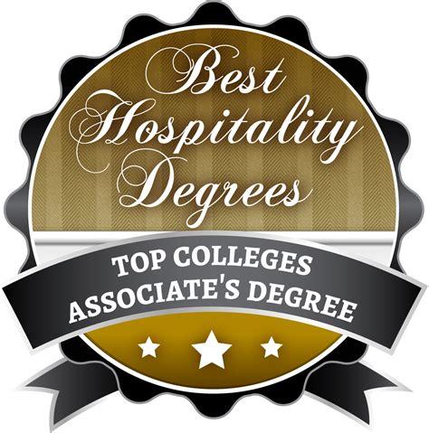 top  associate degrees   hospitality management