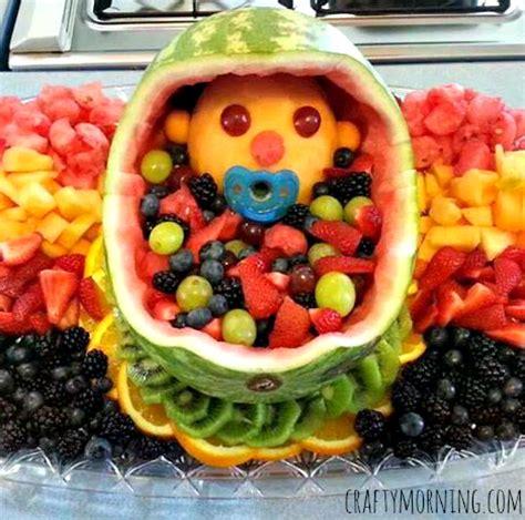 Diy Baby Fruit Basket For A Baby Shower  Crafty Morning