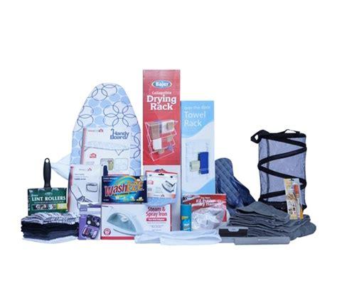 Laundry & Bath  Premium College Dorm Room Kit Shower