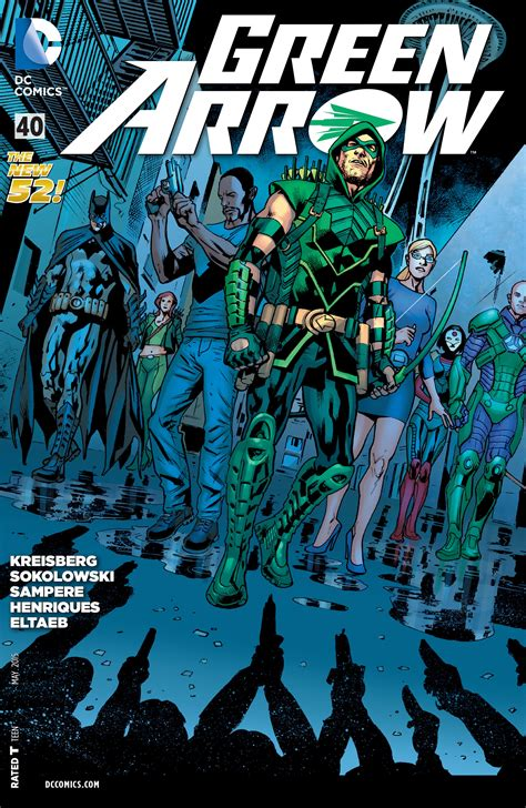 Green Arrow Vol 5 40  Dc Database  Fandom Powered By Wikia