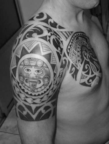 50 Tribal Sun Tattoo Designs For Men - Black Ink Rays