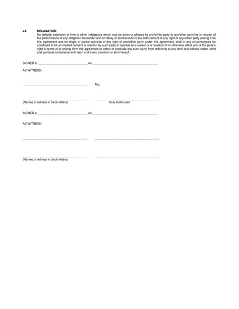 Installment Sale Agreement Template by Installment Sale Agreement Free
