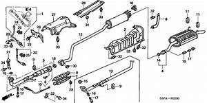 Oem Honda Civic Coupe 2005 Exhaust Pipe
