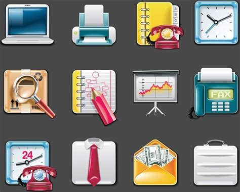 Office Supplies Vector by Vector Office Supplies Icon Free Vector In Encapsulated
