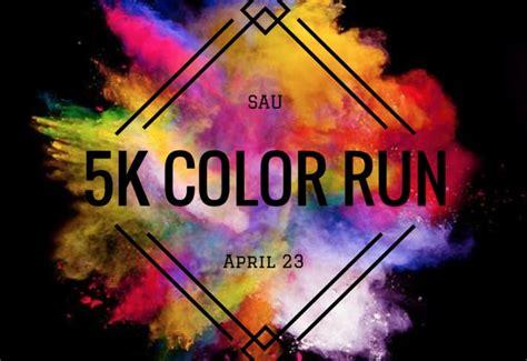 5k color run sau color run 5k collegedale tn 2017 active