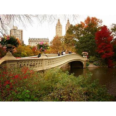 Bow Bridge Central Park New York City 75Autumn.