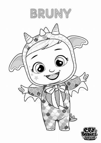 Cry Babies Bruny Tears Magic Coloriage Colorier