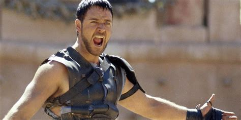 Russell Crowe Maximus Gladiator