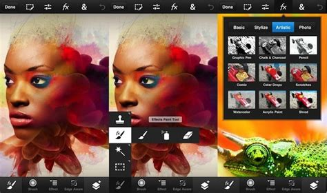 adobe releases photoshop touch  iphone ipod touch
