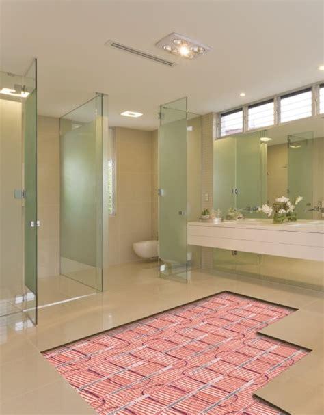 bathroom underfloor heating systems warmup