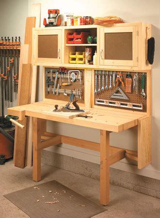 fold  workstation woodsmith plans