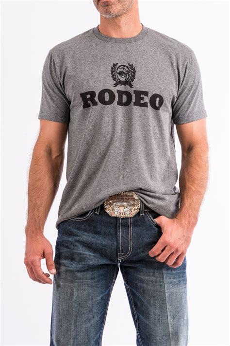 CINCH Jeans | Men's Gray Cotton-Poly Tee Shirt