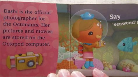 octonauts discover read aloud story book early