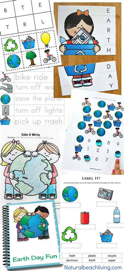 earth day activities preschool amp kindergarteners 726 | Earth Day Printables for Kids pin