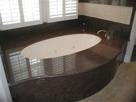 Paradiso Classico Granite Bathtub Deck and Surroun from