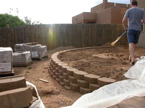 retaining wall ideas retaining wall design landscape
