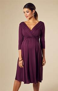 Willow maternity dress short claret maternity wedding for Maternity dresses for wedding party
