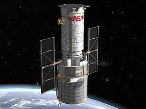 space hubble telescope 3d model