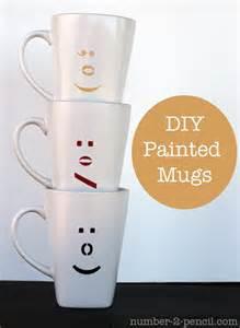 DIY Painted Ceramic Mug Ideas