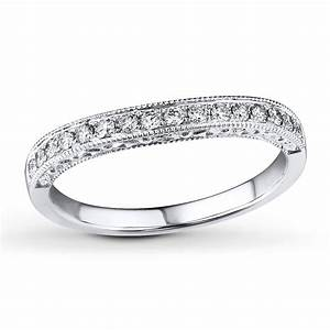 vintage round milgrain wedding ring band in white gold With vintage white gold wedding rings