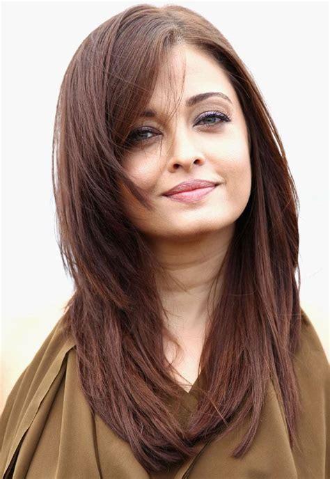Celebrity Hairstyles: Aishwarya Rai Hairstyles For Round