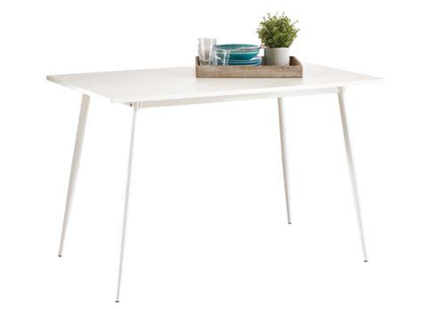 ik table cuisine table de cuisine niko blanc