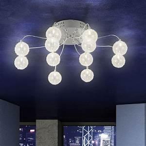Lampe Mit Mehreren Lampenschirmen : lampen strahler decke glas pendelleuchte modern ~ Markanthonyermac.com Haus und Dekorationen