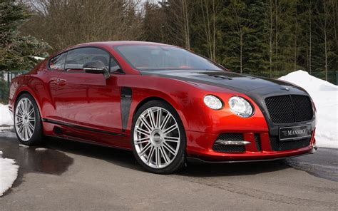 Mansory Sanguis Bentley Continental Gt 2013 Widescreen