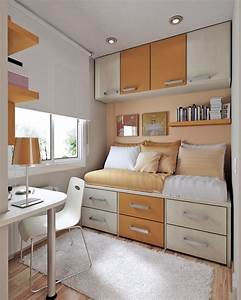 23 efficient and attractive small bedroom designs small With interior design for teenager rooms