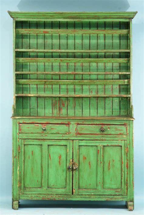 26 antique green irish dresser circa 1840 s on cottage