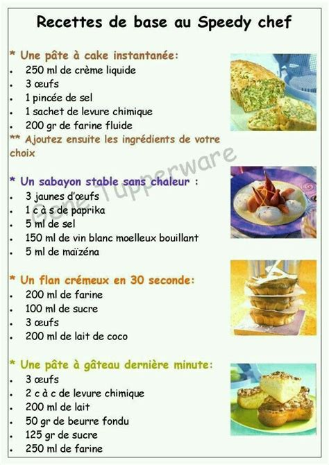 recette avec des pates 17 best images about tupperware speedy chef on pastries tupperware recipes and