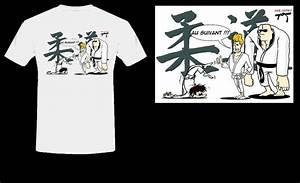 T shirt judo humoristique