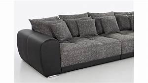 Big Sofa 250 Cm : big sofa sam polsterm bel xxl sofa in schwarz grau 310 cm ~ Bigdaddyawards.com Haus und Dekorationen