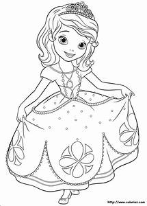 Coloriage De Princesse Sofia Gratuit En Ligne