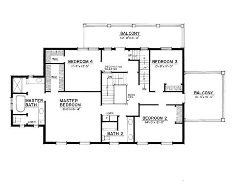 colonial style house plan beds baths sqft plan eplanscom