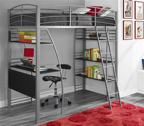 Metal Bunk Beds With Desk Bunk Bed Desk Bunk Beds With