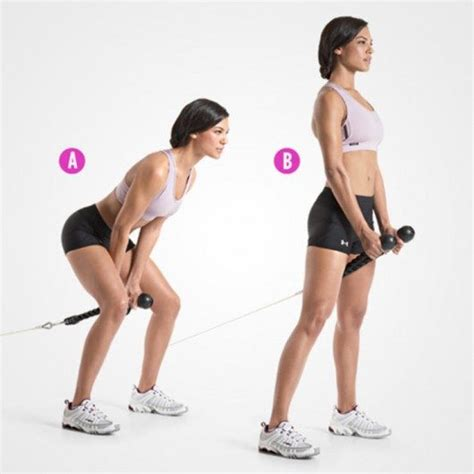 Standing Kickbacks Exercise by Bigger And Rounder Glutes A Killing Circuit For Super