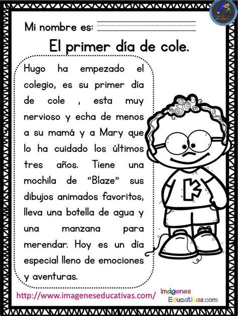 lecturas con preguntas para primaria y primer grado