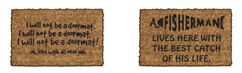 Enter Key Doormat by The Funniest Door Mats Sell House Fast