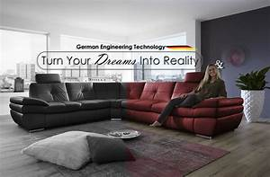 German sofa home the honoroak for Sofa bed made in germany