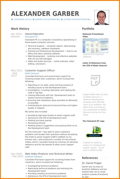 Resume Template Libreoffice by Resume Format Libreoffice Resume Templates