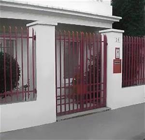 Portail et grille de defense courbevoie neuilly for Porte de garage enroulable avec serrurier levallois perret