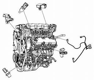 Chrysler Pacifica Sensor  Crankshaft Position  Egt  Egq