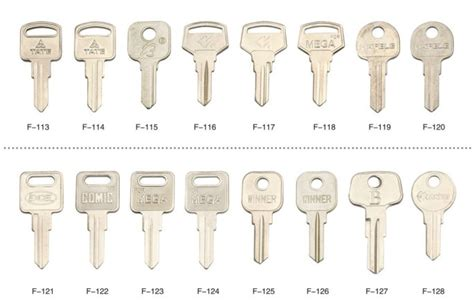 Types Of House Keys Blank Kwikset Type Xianpai Brand