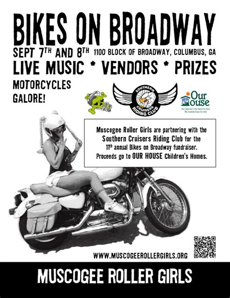 bikes  broadway muscogee roller girls